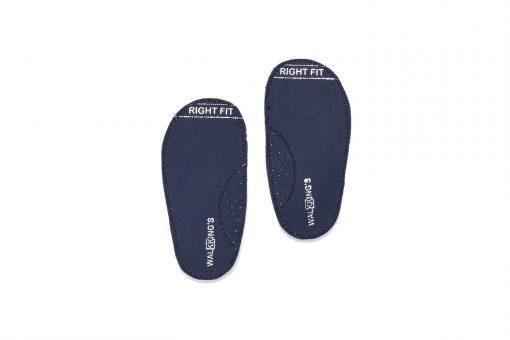Walkkings-Zip-Around-Baby-Kids-Todder-First-Step-Shoes-Dark-Blue-Insole - Copy