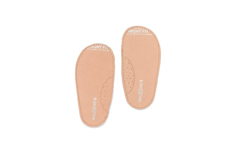 Walkkings-Zip-Around-Baby-Kids-Todder-First-Step-Shoes-Nude-Insole