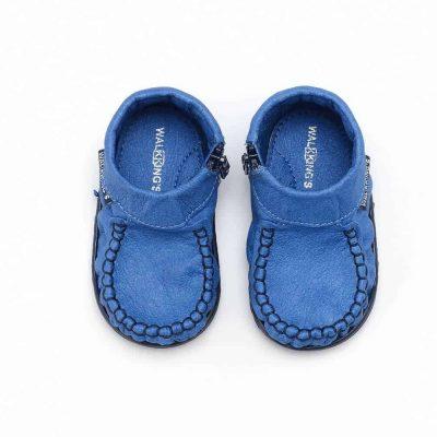 pierwsze buciki dla dziecka walkkings baby kids blue
