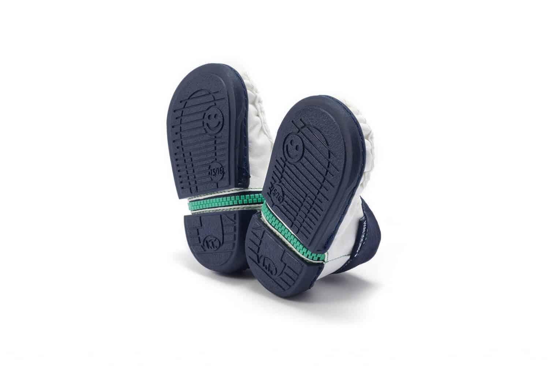 Walkkings buciki niemowlęce kolor blue frosting
