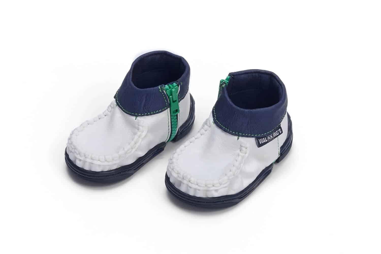 Blue Frosting buciki niemowlęce od firmy walkkings