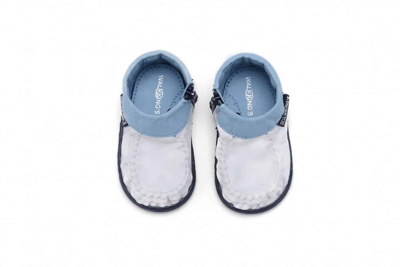 walkkings w kolorze light up blue frosting pierwsze buty dla dziecka