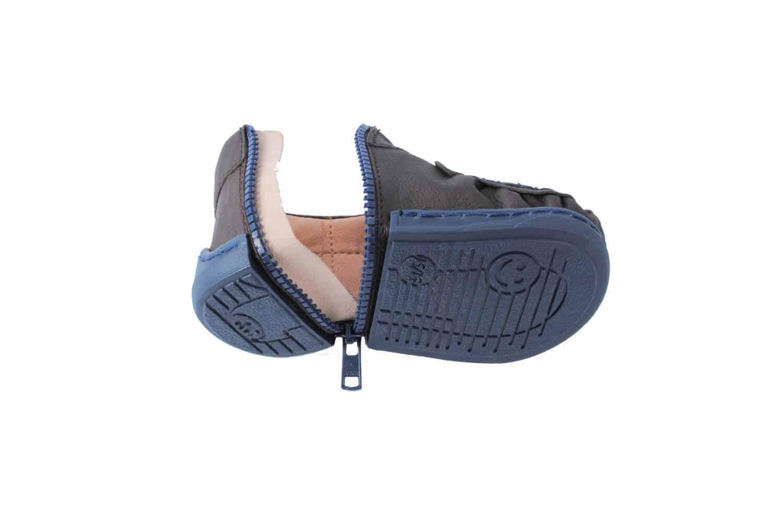 buty niemowlece walkkings posiadaja opatentowany system zip aroun