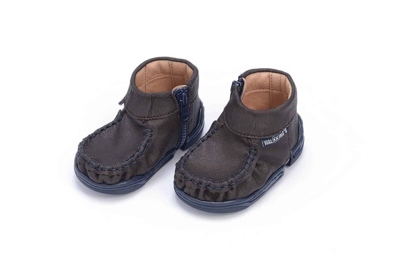 walkkings buty dla niemowlaków kolor midnight brown